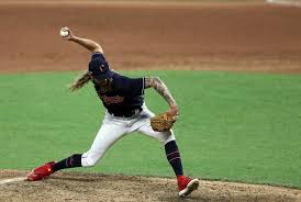 Cleveland Indians relief pitcher Adam Cimber pitches in the eighth inning  of the exhibition game against the Pitts… in 2020 | Cleveland indians,  Pittsburgh pirates, Indians