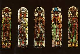 oldest antique stained glass windows