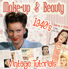 1940s makeup tutorials books and videos