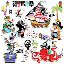 Shop Wall Decor Kid Stickers Pirates At Sea Wall Vinyl Overstock 17950147