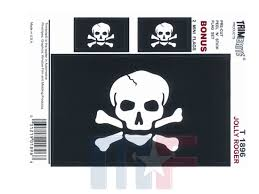 Trimbrite Decals Jolly Roger Flag M F Online Store
