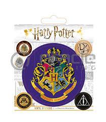 Harry Potter Hogwarts Vinyl Sticker Pack Oracle Trading Inc