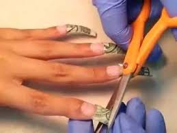 pretty clear acrylic money nails tips