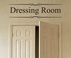 Amazon Com Dressing Room Closet Clothes Women Fashion Kids Room Girl Adhesive Vinyl Wall Decal Lettering Art Letters Decor Quote Sticker Saying Decoration Home Kitchen