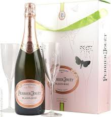 perrier jouet blason rose with gles