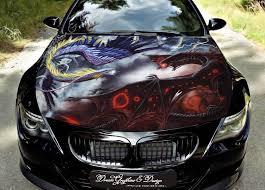 Hood Wrap Full Color Print Vinyl Decal Fit Any Car Dragon 164 Car Car Decals Custom Cars Paint