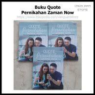 jual produk buku quote pernikahan zaman now murah dan terlengkap