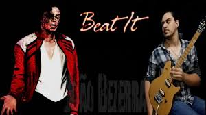 Michael Jackson - Beat it Eddie Van Halen solo cover 1982 - YouTube
