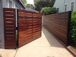 Horizontal Wood Fence Patio Fence Wood Fence Design Fence Design
