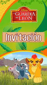 Tarjeta De Invitacion Digital Animada La Guardia Del Leon En 2020