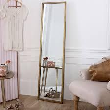 tall gold full length mirror 40cm x