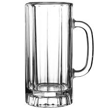 libbey paneled beer mugs at drinkstuff com