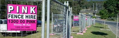 Temporary Fencing Batemans Bay Pink Fence Hire Batemans Bay Temporary Fencing