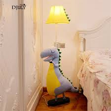 Cute Ragdoll Dinosaur Floor Lamps For Living Room Children Bedroom Study Standing Lamp Kids Creative Birthday Led Stand Light Floor Lamps Aliexpress