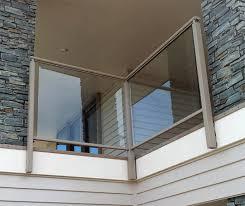 framed glass barades barades