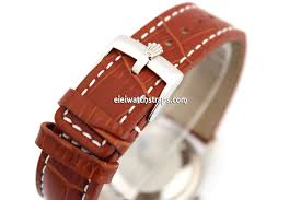 padded leather watch strap for rolex