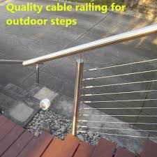 Stainless Steel Wire Rope Fence Cable Railings