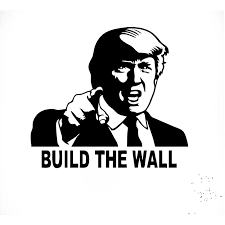 Hotmeini 15cm 12cm Donald Trump Build Wall Vinyl Decal Car Truck Sticker Republican Funny Political 13 Colors Car Stickers Aliexpress