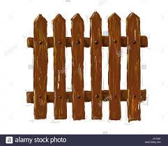 Wood Row Illustration Fence Border Gate Drawing Photo Picture Image Stock Photo Alamy