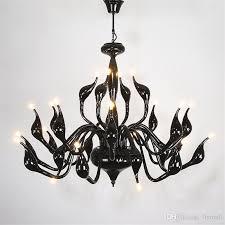 pendant light swan chandeliers lighting