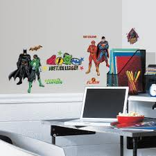 Justice League Wall Decals Roommates Decor