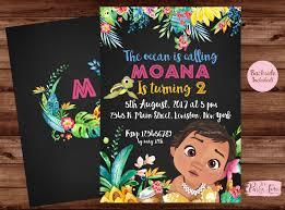 Cumpleanos De Moana Moana Invitacion Fiesta De Cumpleanos De