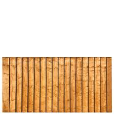 Featheredge Fence Panel 6 Wide X 3 High A P Fencing