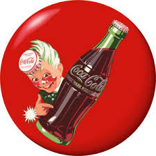 Sprite Boy Coca Cola Disc Red Removable Wall Decal Button Style Ebay