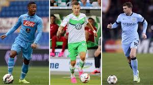 7 Transfergerüchte mit Jonathan de Guzmán, Ivan Perisic und Edin Dzeko -  Transfermarkt 2015-2016 - Fußball - Eurosport Deutschland