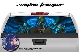 Zombie Trooper 65x22 Rear Window Graphic