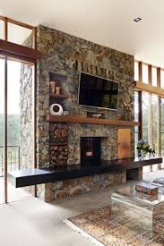 stylish ways to clad or cover a fireplace