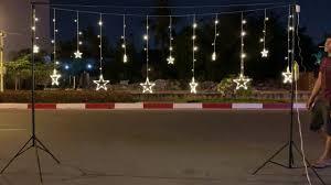 Đèn led trang trí sao lớn nhỏ 24 sao led trang trí đám cưới sinh nhật  0971711705 - YouTube