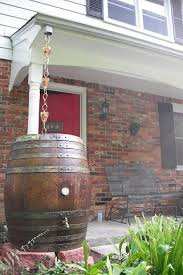 rain barrels decorative and diy