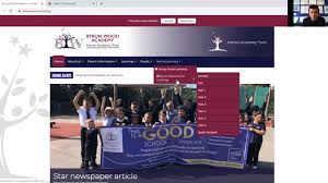Accessing work from the Byron Wood website - YouTube
