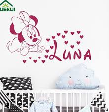Best Top Minnie Mouse Wall Stickers For Kids Room With Name Ideas And Get Free Shipping Mb25i870