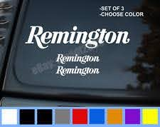 Remington Car And Truck Graphics Decals For Sale Ebay