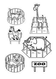 Kleurplaat De Zoo Gratis Kleurplaten Om Te Printen
