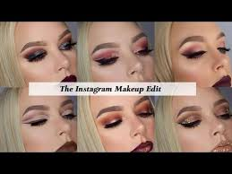 how to edit makeup photos for insram