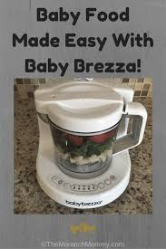 baby food made easy with baby brezza