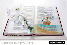 Bible Journaling with Penny Ward | The Penny Black Blog