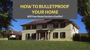 how to set bulletproof house will