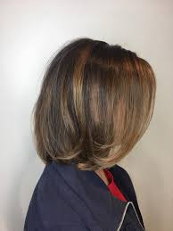 Brunette's with balayage bobs have the... - J Michael's Spa & Salon |  Facebook