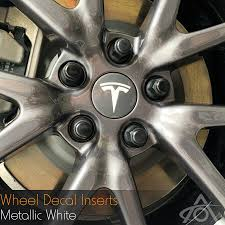 Vinyl Wheel Decal Inserts All Teslas
