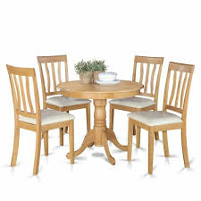 5 Pc Kitchen Table Set Small Kitchen Table Plus 4 Dining Chairs For Sale Online