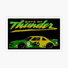 Days Of Thunder Stickers Redbubble