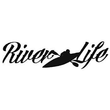 River Life Kayak Vinyl Decal Sticker In 2020 Kajakken Kayak Vinyl