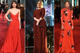 Week in Fashion: Adele, Taylor Swift, and More Go Red Carpet Red ...