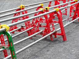 Construction Site Safety Fence Stock Photo Picture And Royalty Free Image Image 44511228