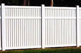 Semi Privacy 6 Inch Vinyl Fence