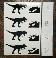 Jurassic Mini T Rex Dinosaur Car Vinyl Sticker Window Decal Windshield Ebay